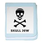 Skull Jew baby blanket