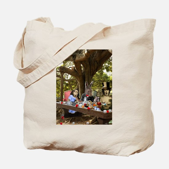 A Mad Tea Party (full) Tote Bag