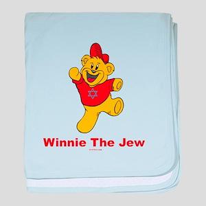 Winnie The Jew baby blanket