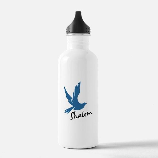 Shalom - Dove Water Bottle