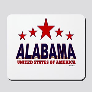 Alabama U.S.A. Mousepad