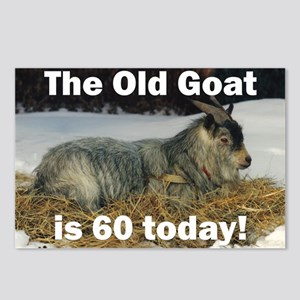 Old Goat is 60 Today Postcards (Package of 8)