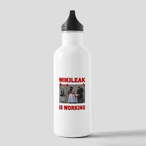 WIKILEAK TERRORISTS Stainless Water Bottle 1.0L