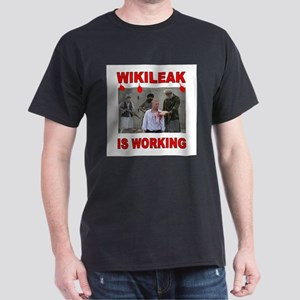 WIKILEAK TERRORISTS Dark T-Shirt