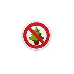 No Christmas Mini Button (10 pack)