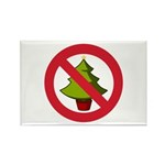 No Christmas Rectangle Magnet (100 pack)