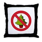 No Christmas Throw Pillow