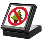 No Christmas Keepsake Box