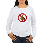 No Christmas Women's Long Sleeve T-Shirt
