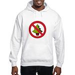 No Christmas Hooded Sweatshirt