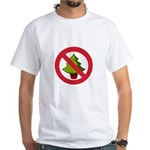 No Christmas White T-Shirt