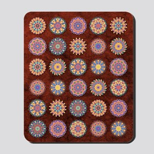 Multiple Kaleidoscopes Mousepad