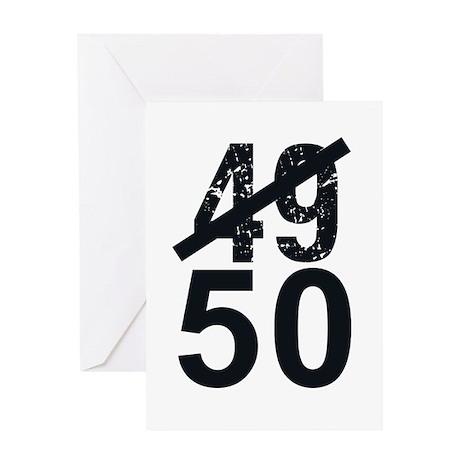 Great 50th Birthday Greeting Card