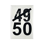 Great 50th Birthday Rectangle Magnet