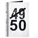Great 50th Birthday Journal