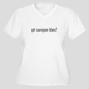 Got Sauvignon Blanc Women's Plus Size V-Neck T-Shi