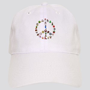 Christmas Peace Sign Cap