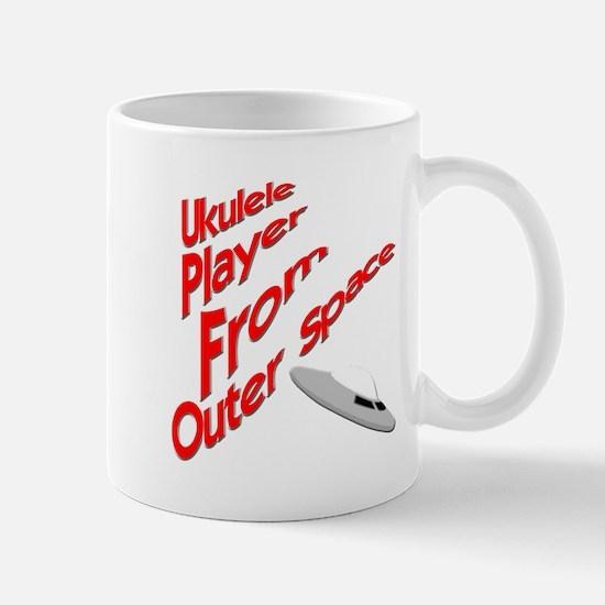 Funny UFO Ukulele Mug