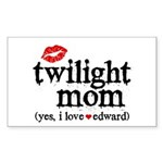 Twilight Mom Sticker (Rectangle 50 pk)