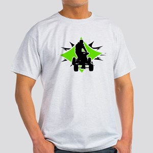 Quad Black and Green Light T-Shirt