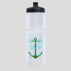 Let's Get Ship Faced Sports Bottle