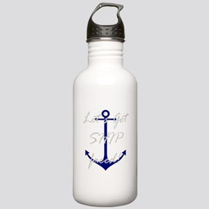 Let's Get Ship Faced Stainless Water Bottle 1.0L