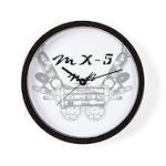 MX-5 na Wall Clock