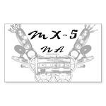 MX-5 na Sticker (Rectangle)