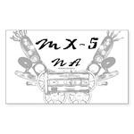 MX-5 na Sticker (Rectangle 10 pk)