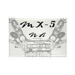 MX-5 na Rectangle Magnet (100 pack)