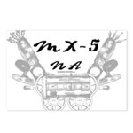 MX-5 na Postcards (Package of 8)