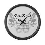 MX-5 na Large Wall Clock