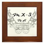 MX-5 na Framed Tile