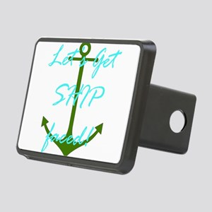 Let's Get Ship Faced Rectangular Hitch Cover