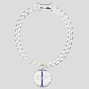 Let's Get Ship Faced Charm Bracelet, One Charm