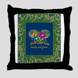 Beautiful Nana Throw Pillow