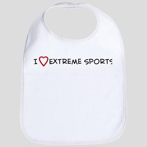 I Love Extreme Sports Bib