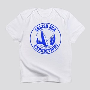 Salish Sea Expeditions Creeper Infant T-Shirt