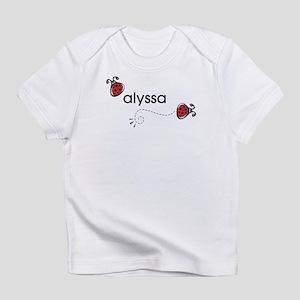 Alyssa Creeper Infant T-Shirt