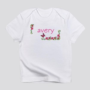 Butterfly & Flowers Avery Creeper Infant T-Shirt