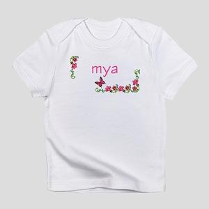 Butterfly & Flowers Mya Infant T-Shirt