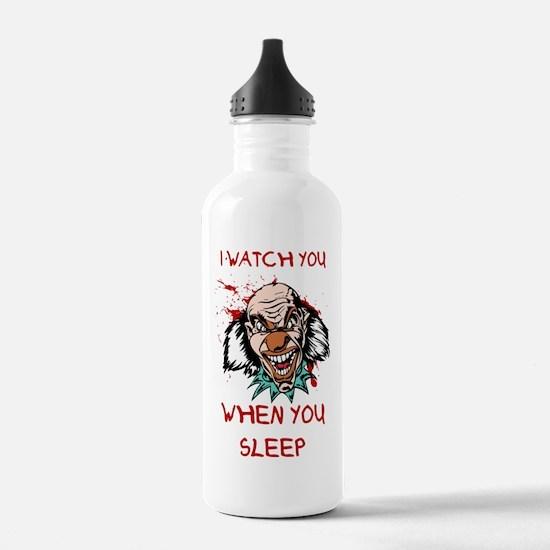 Unique No clowns Water Bottle