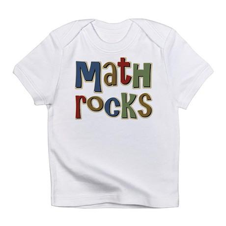 Math Rocks Arithmetic Geek Infant T-Shirt