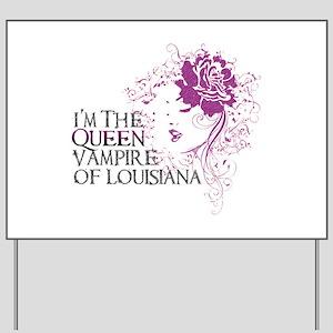 Vampires Yard Sign