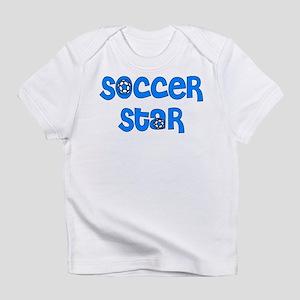 Blue Soccer Infant T-Shirt