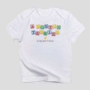 Boston Terrier Creeper Infant T-Shirt