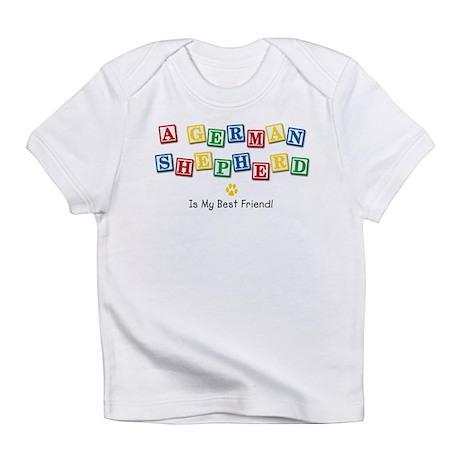 German Shepherd Creeper Infant T-Shirt