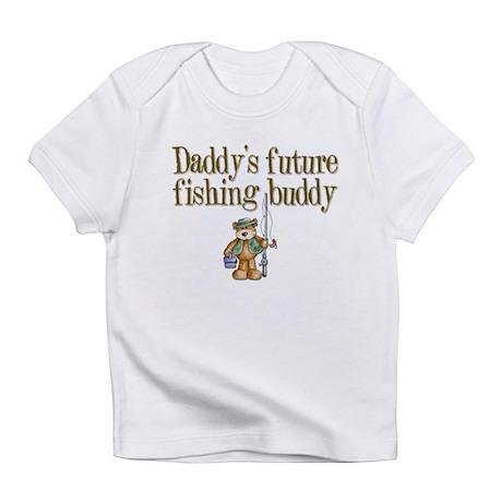 Daddy's Future Fishing Buddy Creeper Infant T-Shir