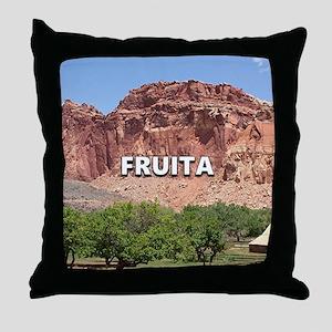 Fruita: Capitol Reef National Park, U Throw Pillow