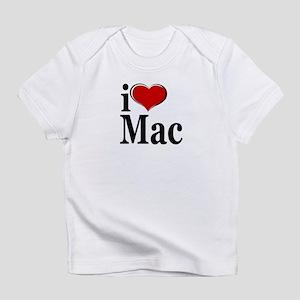 I Love Mac! Infant T-Shirt